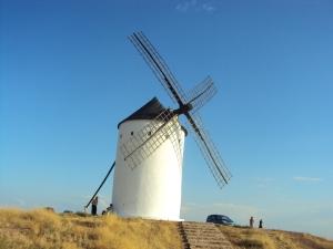 uno de los gigantes de don Quijote