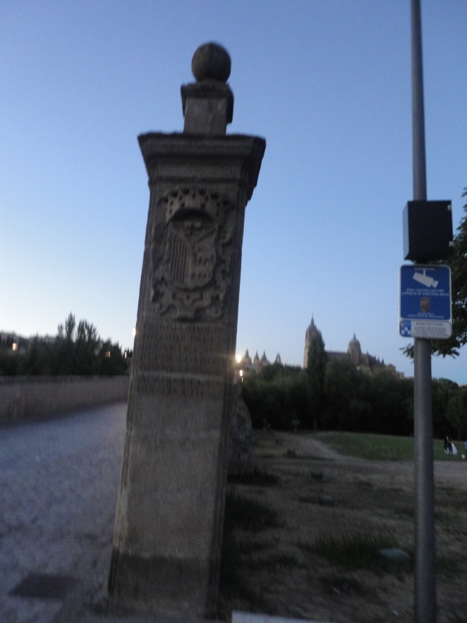 Salamanca, en el puente romano