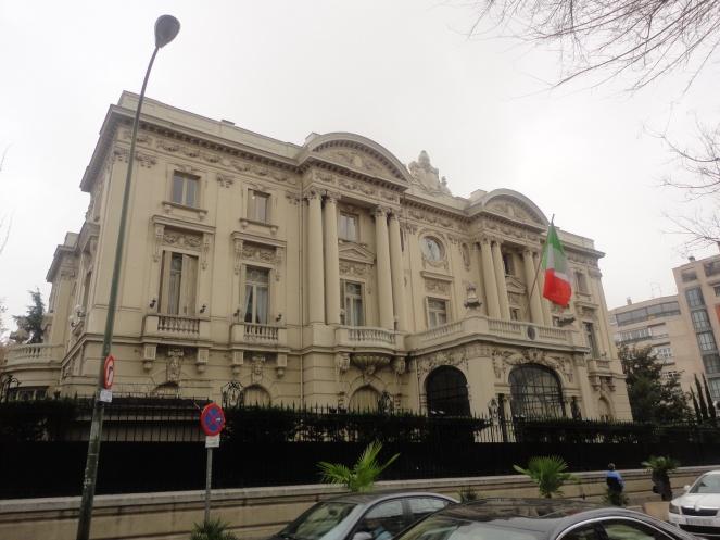Embajada de italia en España
