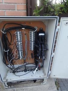 sabotaje a la fibra óptica de Telefonica